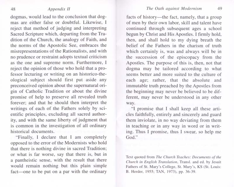 The Permanent Instruction of the Alta Vendita: A Masonic Blueprint for the Subversion of The Catholic Church page 48-49