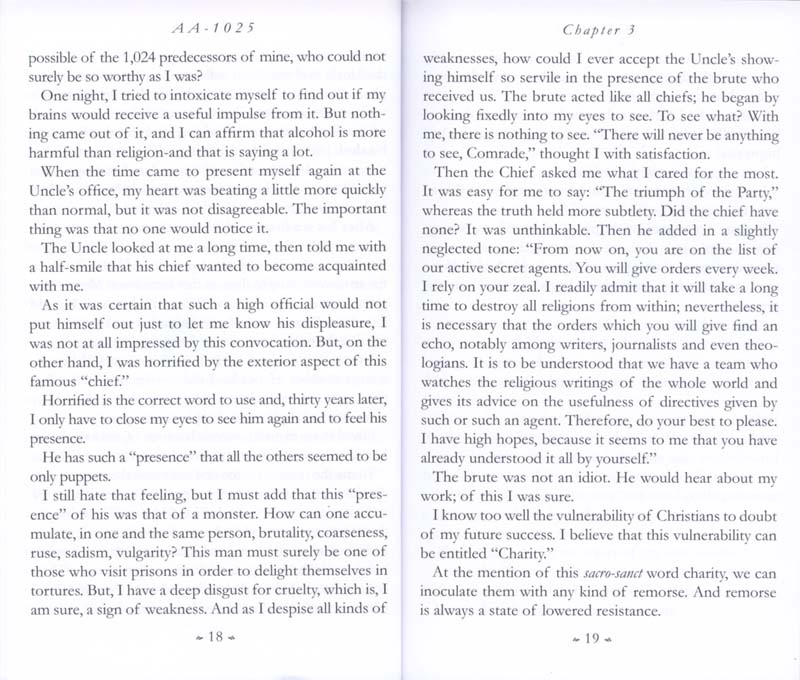 Memoirs of the Communist Infiltration Into the Catholic Church p. 18-19