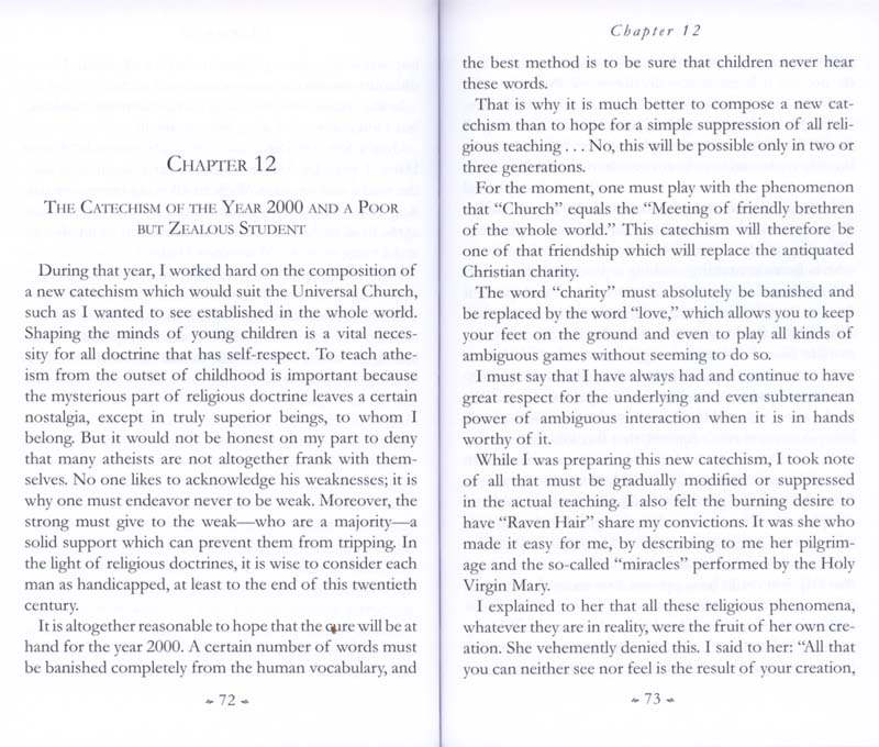 Memoirs of the Communist Infiltration Into the Catholic Church p. 72-73