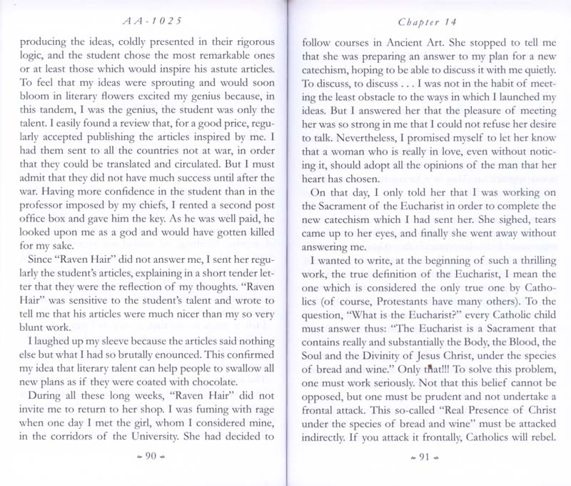 Memoirs of the Communist Infiltration Into the Catholic Church p. 90-91