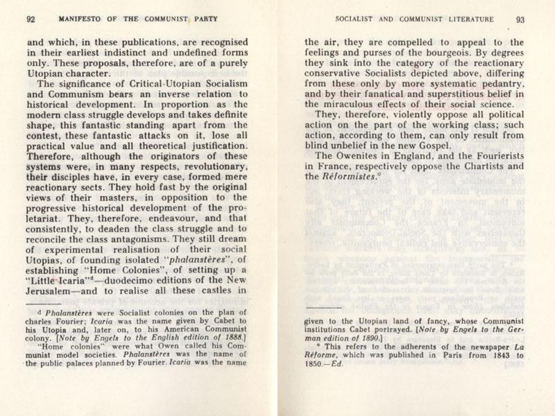 Essay communist manifesto karl marx