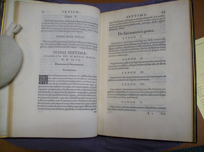 Council of Trent Depaul Special Collections photo 13