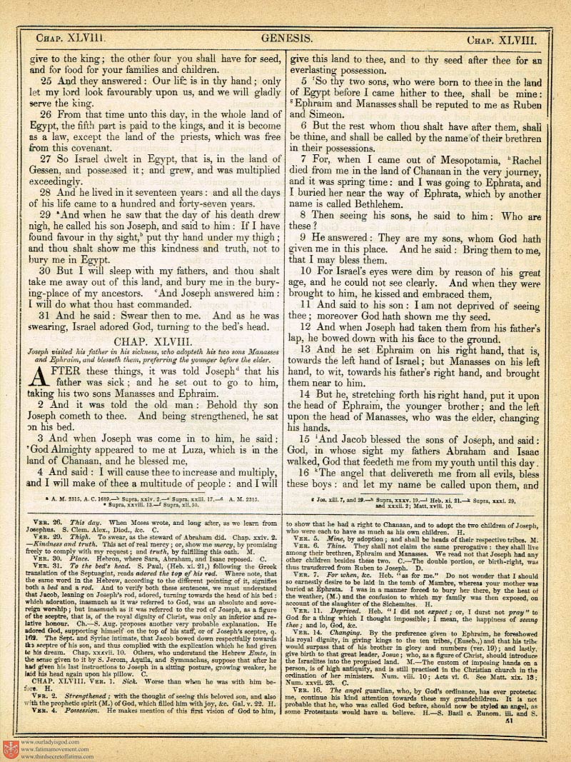 The Haydock Douay Rheims Bible page 0370