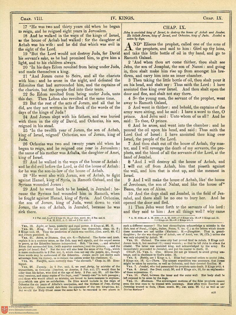 The Haydock Douay Rheims Bible page 0730