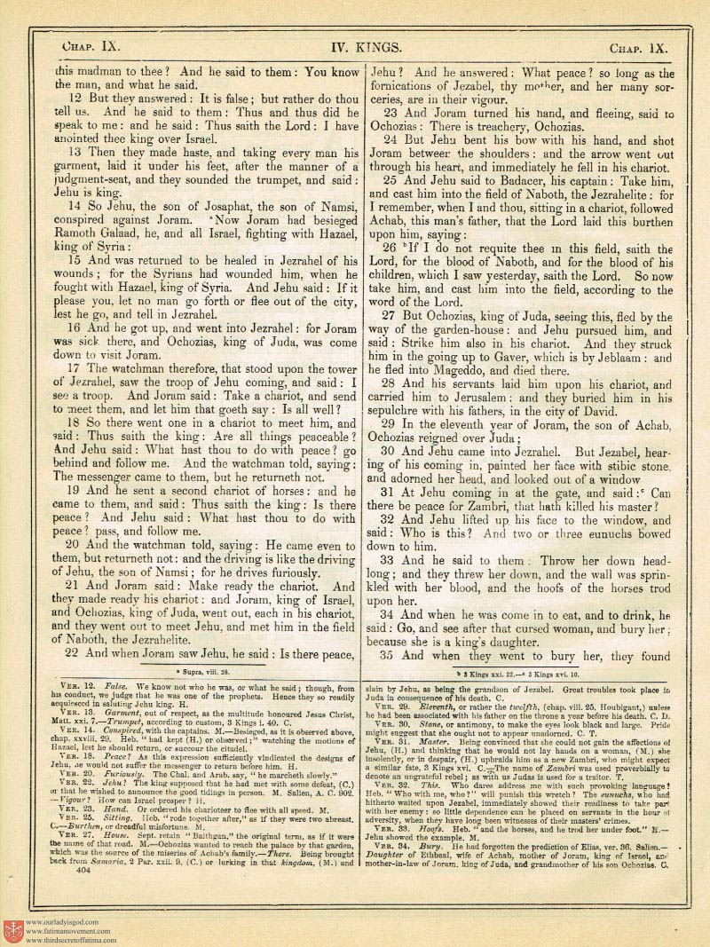 The Haydock Douay Rheims Bible page 0731