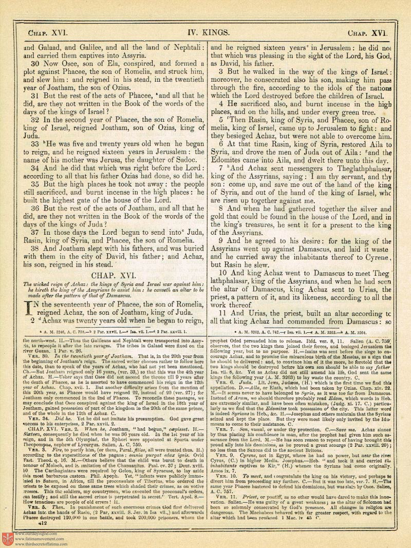 The Haydock Douay Rheims Bible page 0739