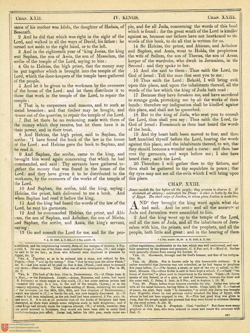 The Haydock Douay Rheims Bible page 0748