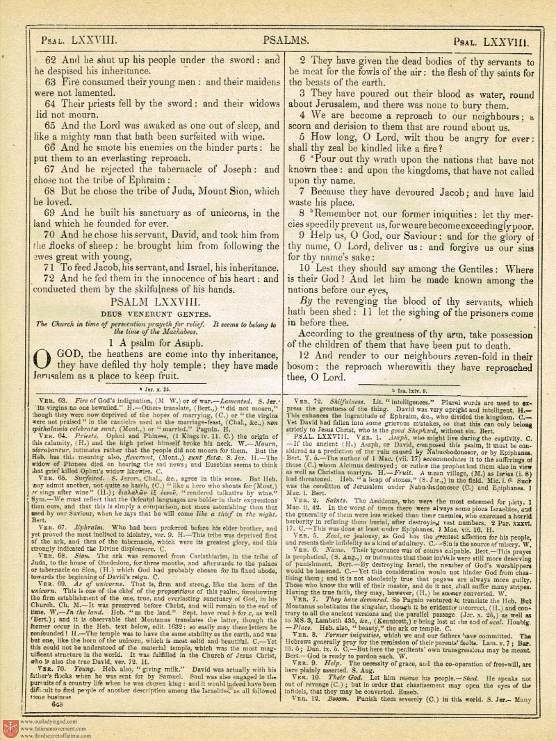 The Haydock Douay Rheims Bible page 0982