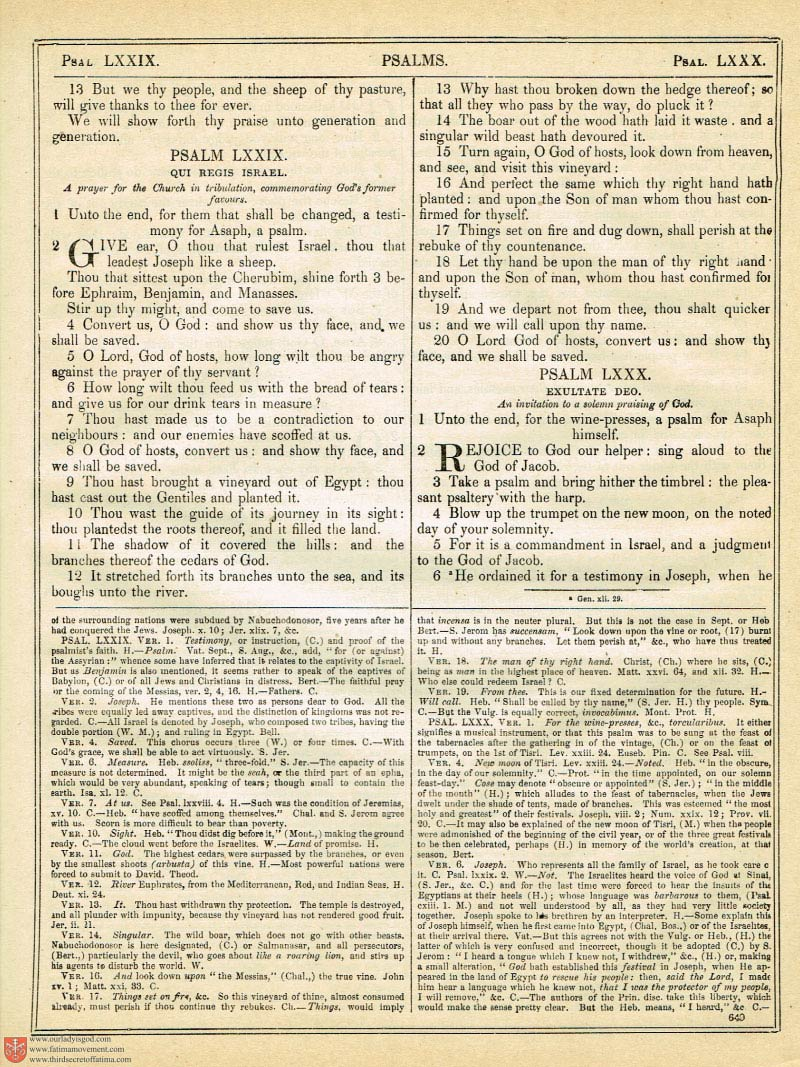 The Haydock Douay Rheims Bible page 0983