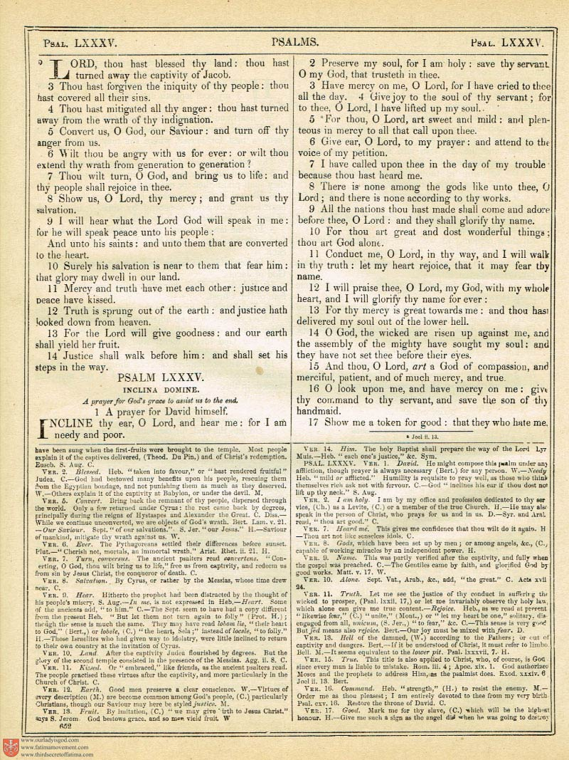 The Haydock Douay Rheims Bible page 0986