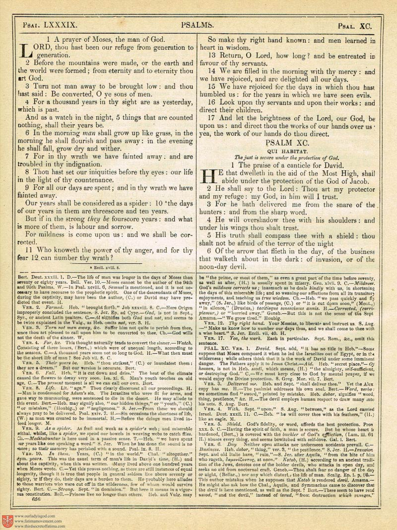 The Haydock Douay Rheims Bible page 0990
