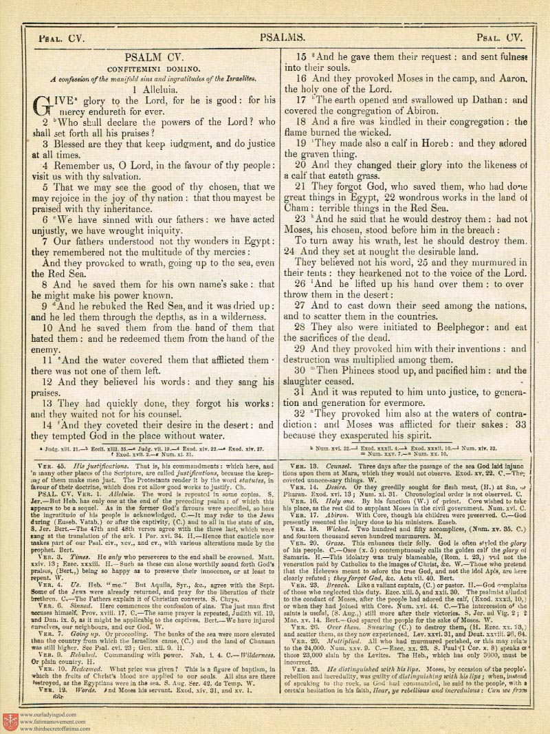 The Haydock Douay Rheims Bible page 1000