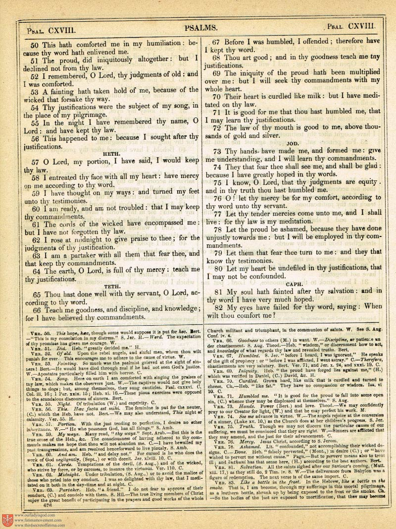 The Haydock Douay Rheims Bible page 1010