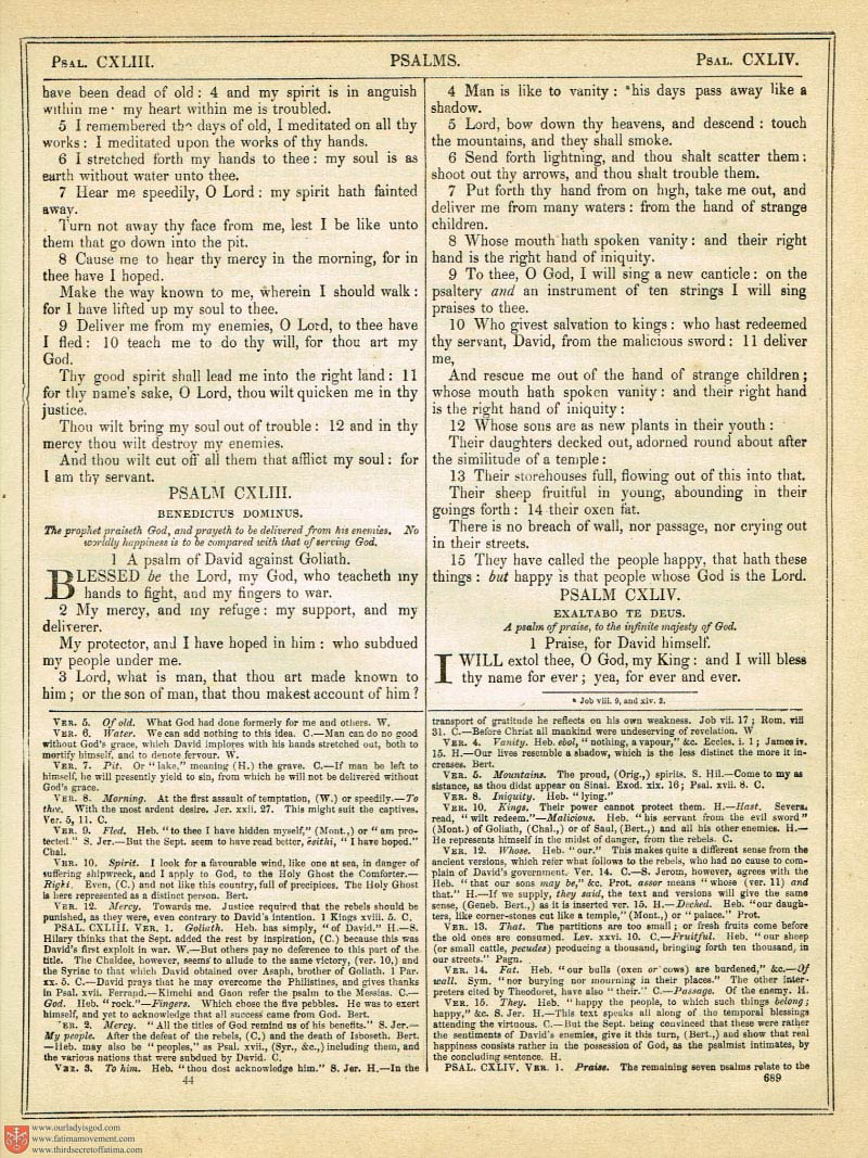 The Haydock Douay Rheims Bible page 1023