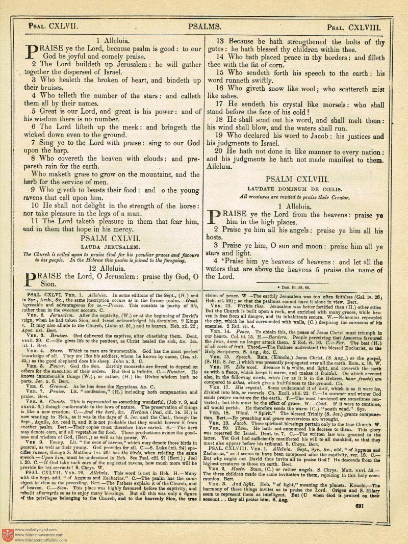 The Haydock Douay Rheims Bible page 1025