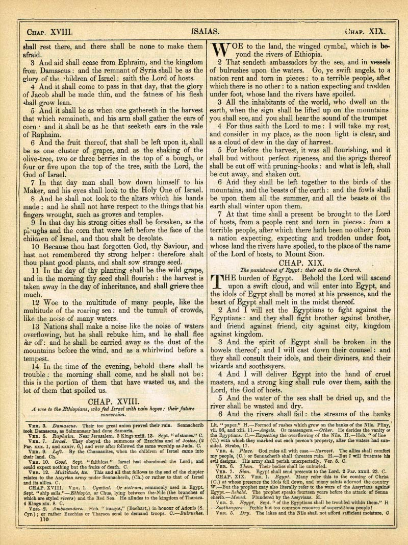 The Haydock Douay Rheims Bible page 1136