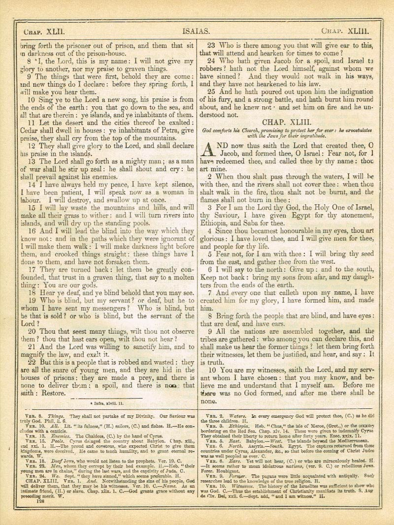 The Haydock Douay Rheims Bible page 1154