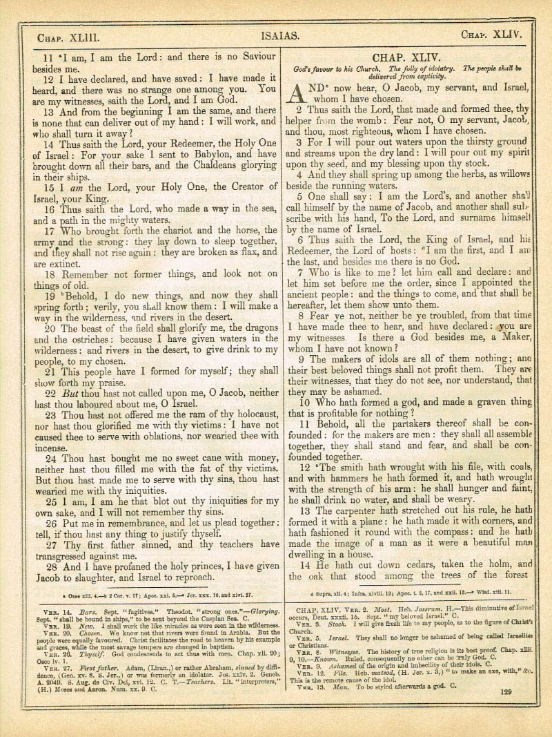 The Haydock Douay Rheims Bible page 1155