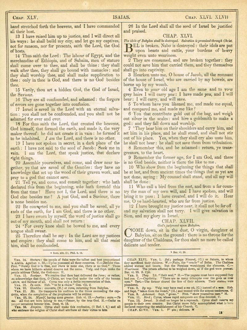 The Haydock Douay Rheims Bible page 1157