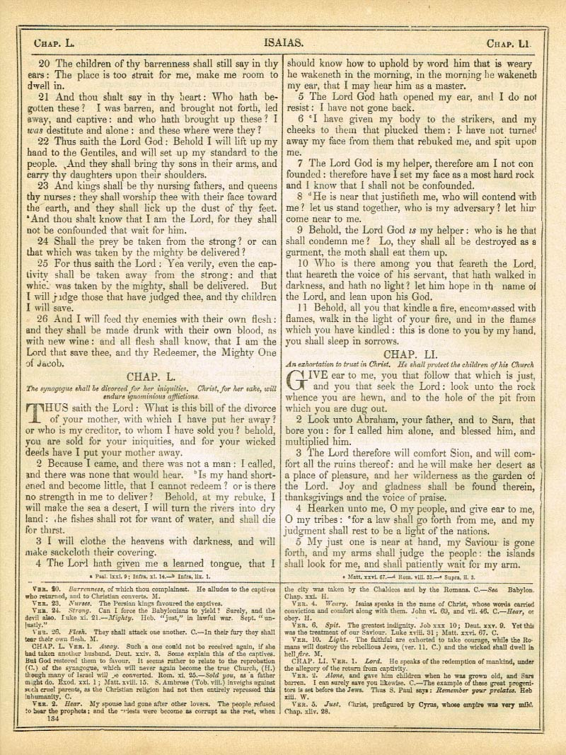 The Haydock Douay Rheims Bible page 1160