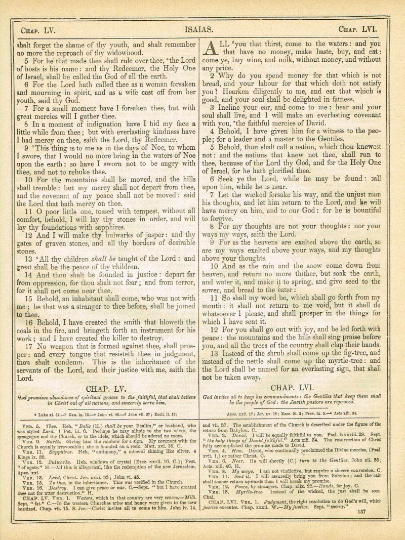 The Haydock Douay Rheims Bible page 1163