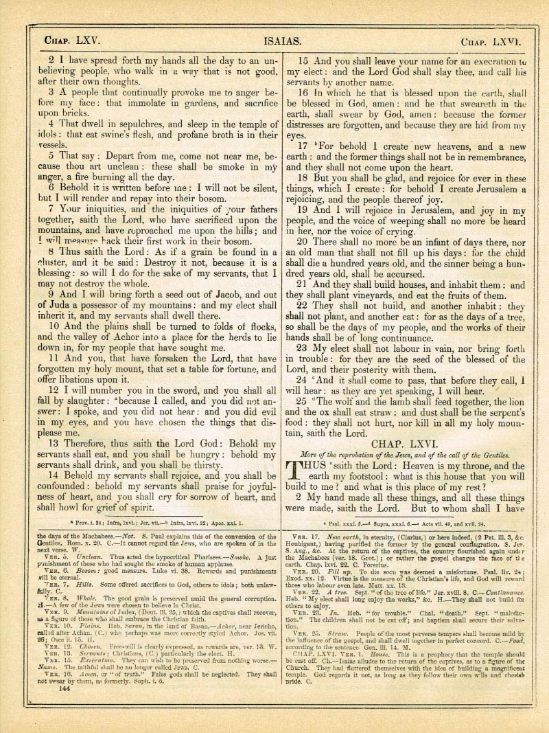 The Haydock Douay Rheims Bible page 1170