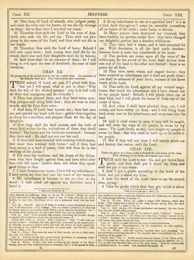 The Haydock Douay Rheims Bible page 1183