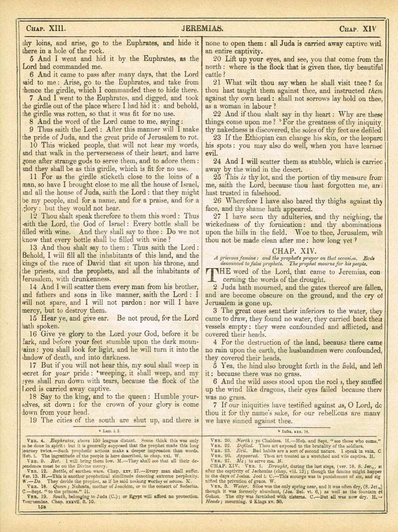 The Haydock Douay Rheims Bible page 1184