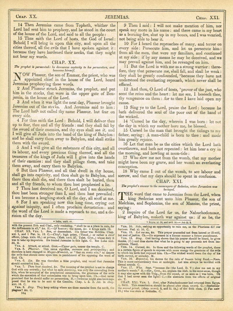 The Haydock Douay Rheims Bible page 1190
