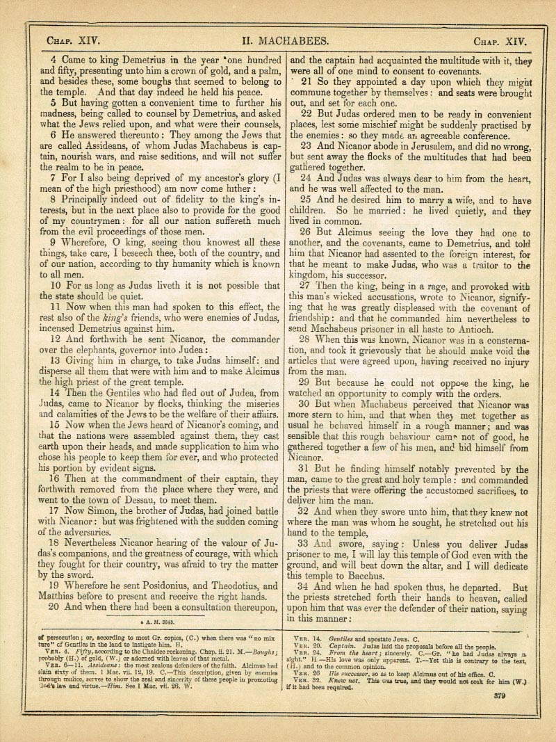 The Haydock Douay Rheims Bible page 1405