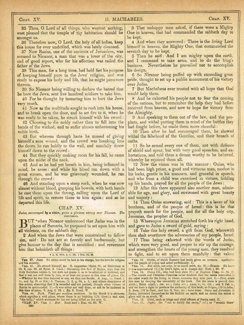 The Haydock Douay Rheims Bible page 1406
