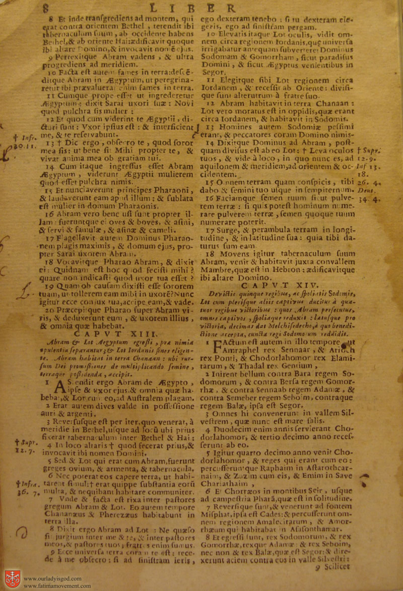 Catholic Latin Vulgate Bible page 0023