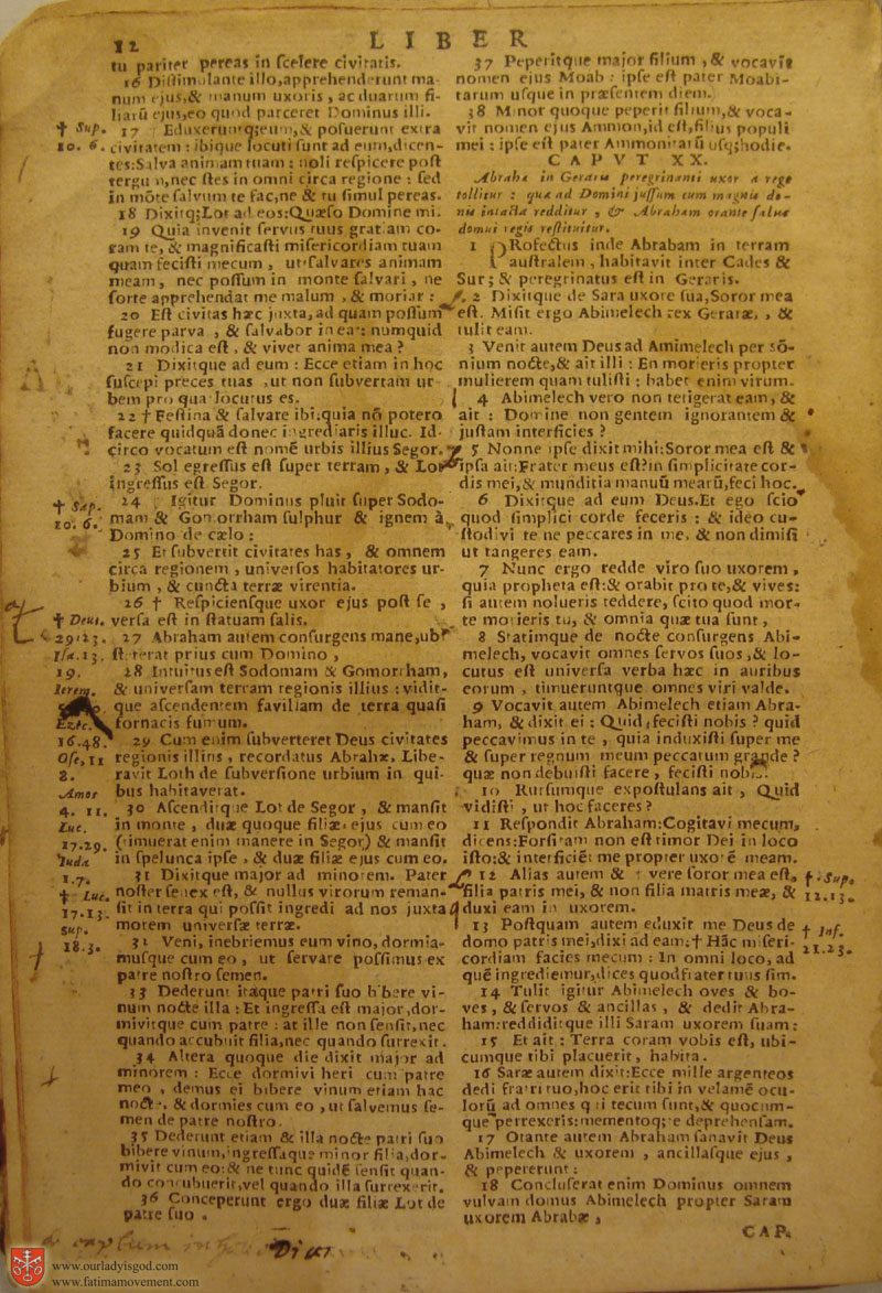 Catholic Latin Vulgate Bible page 0027