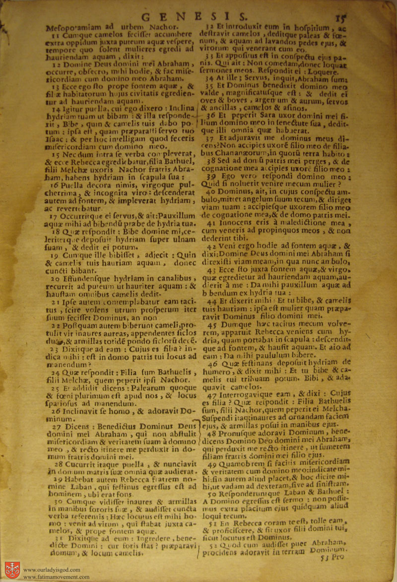 Catholic Latin Vulgate Bible page 0030