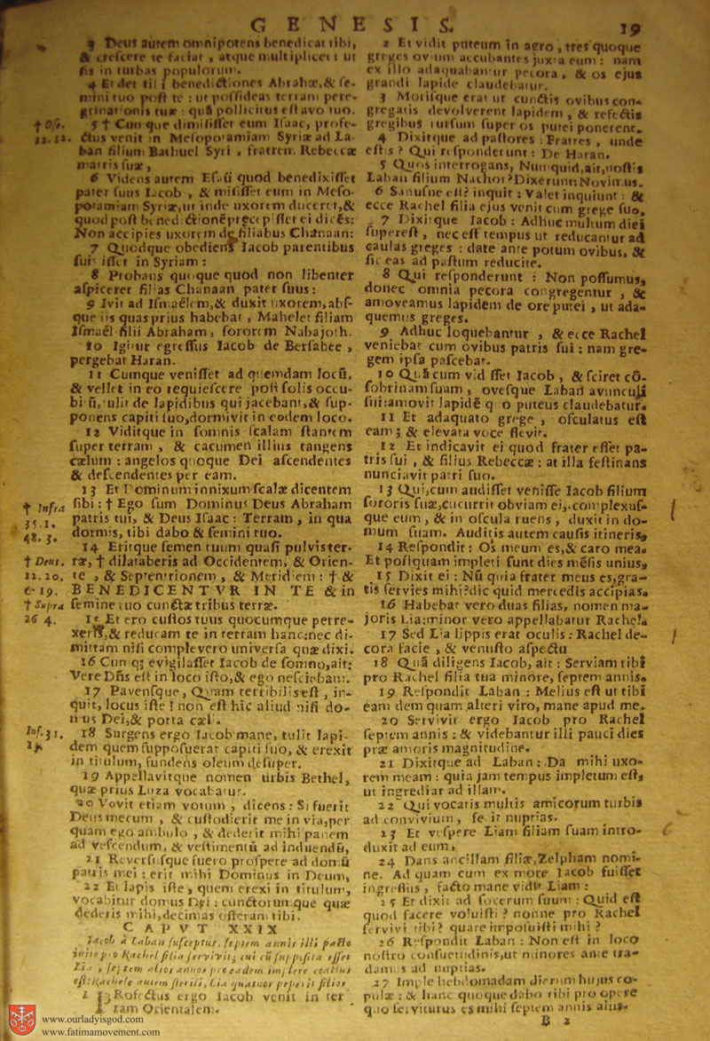 Catholic Latin Vulgate Bible page 0034