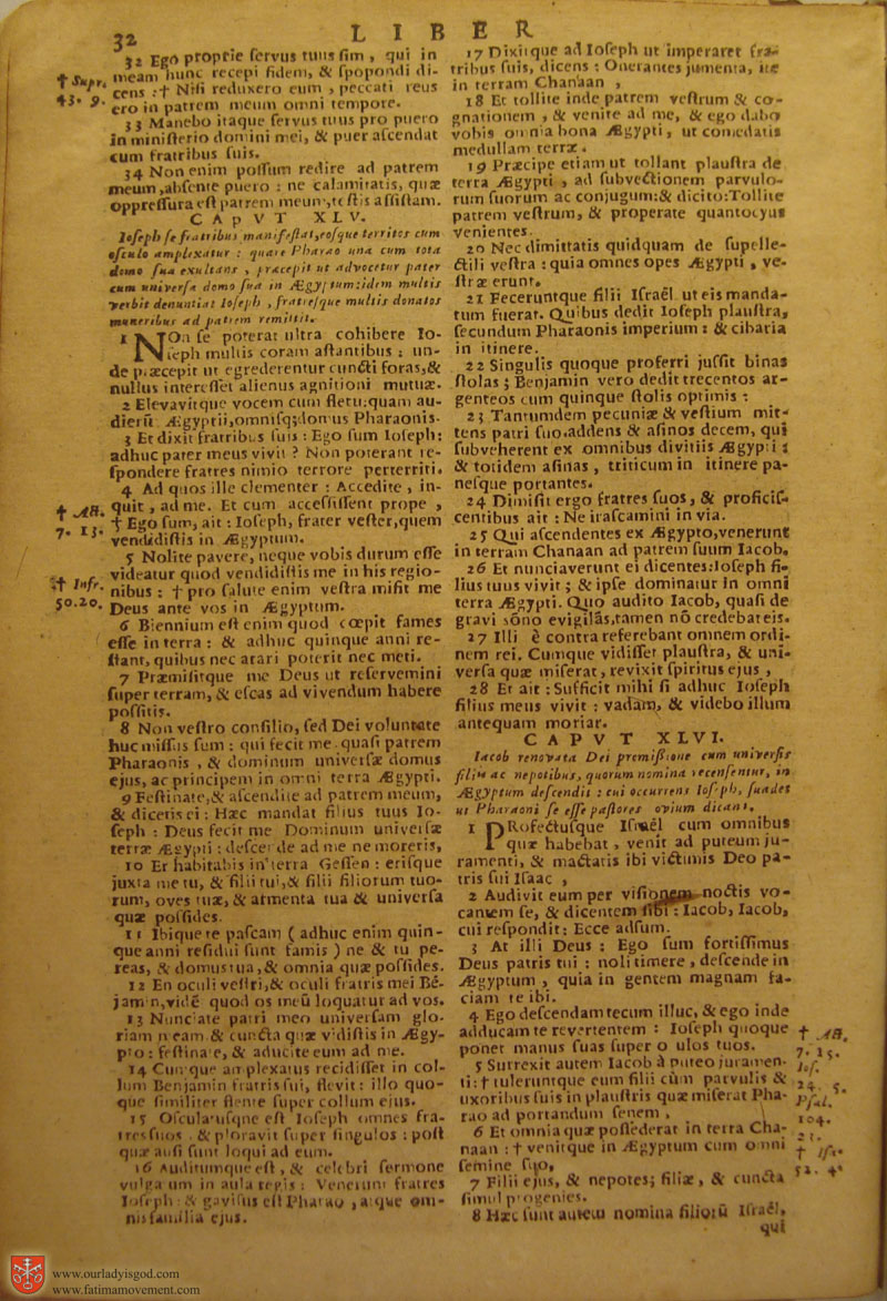 Catholic Latin Vulgate Bible page 0047