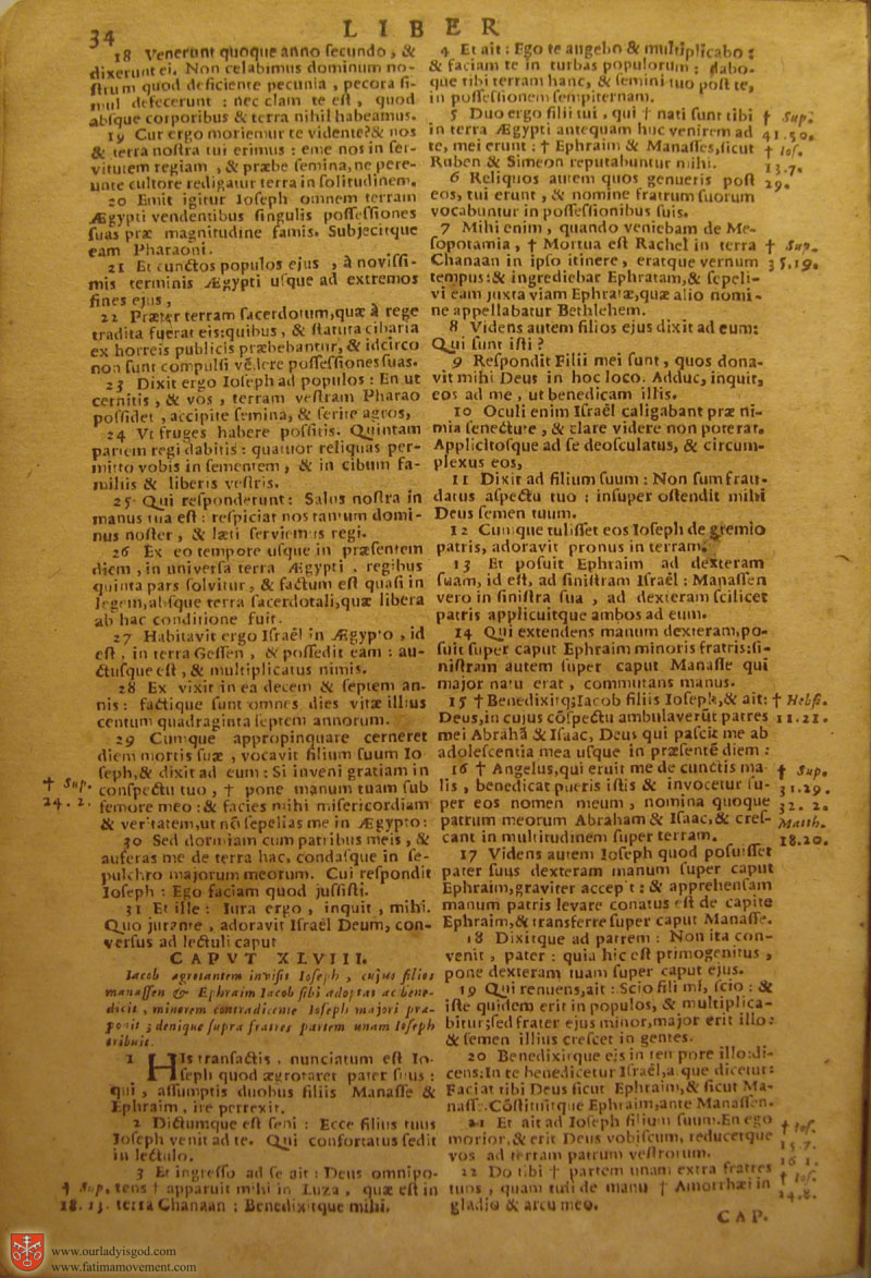 Catholic Latin Vulgate Bible page 0049