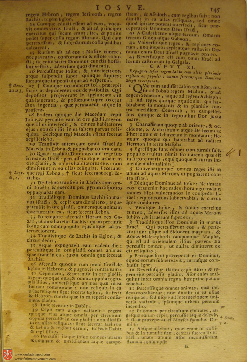 Catholic Latin Vulgate Bible page 0160