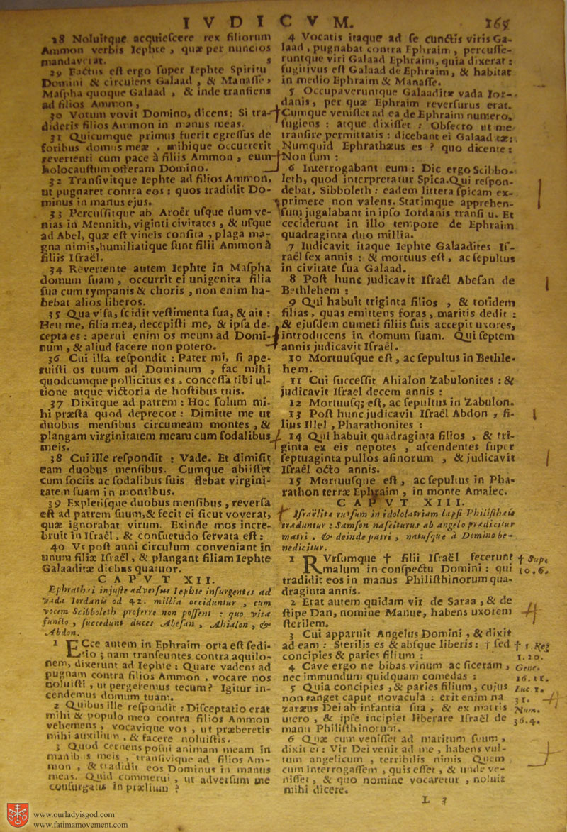 Catholic Latin Vulgate Bible page 0180