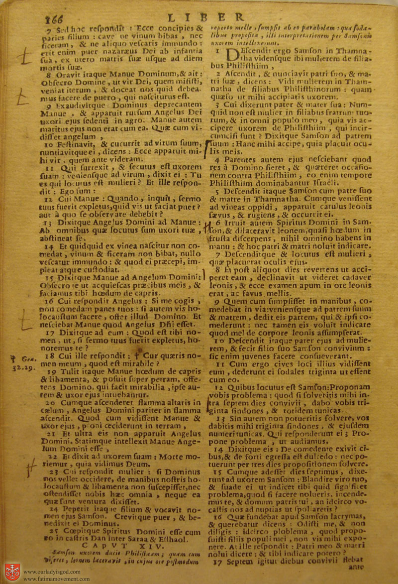 Catholic Latin Vulgate Bible page 0181