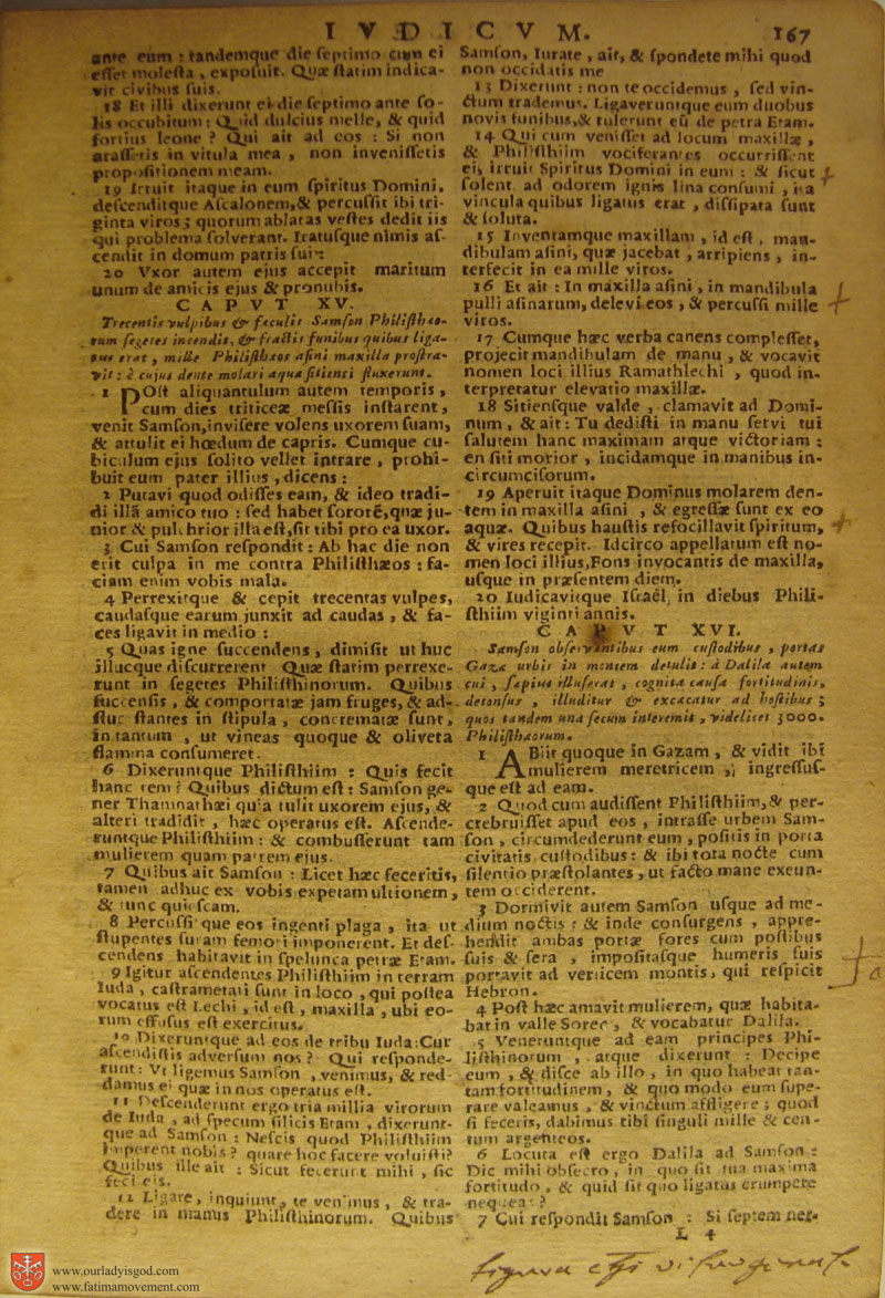 Catholic Latin Vulgate Bible page 0182