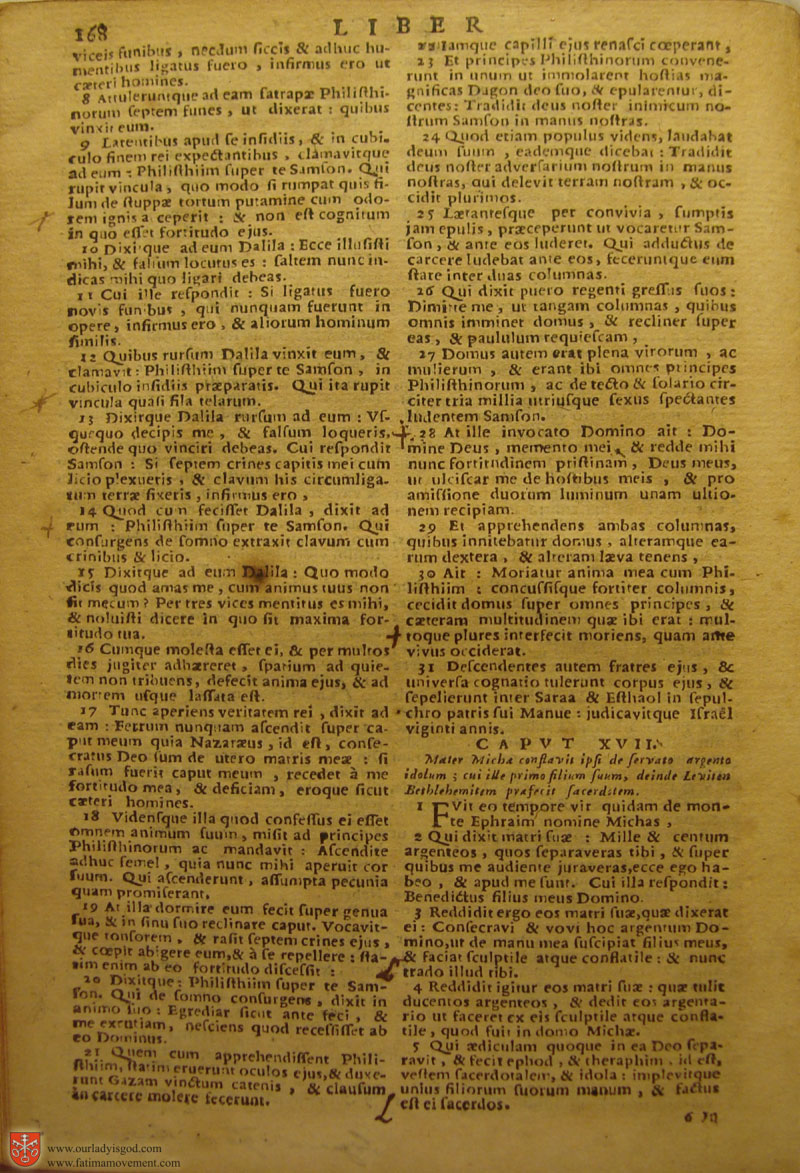 Catholic Latin Vulgate Bible page 0183