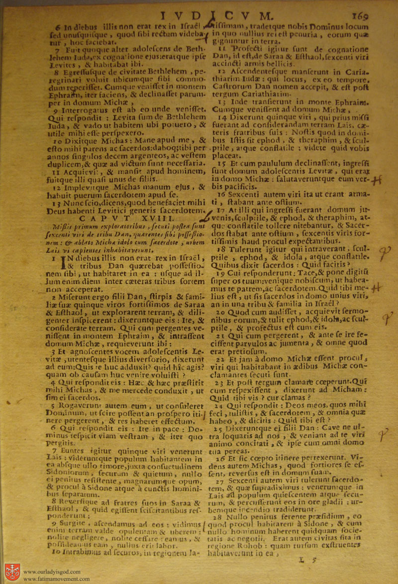 Catholic Latin Vulgate Bible page 0184