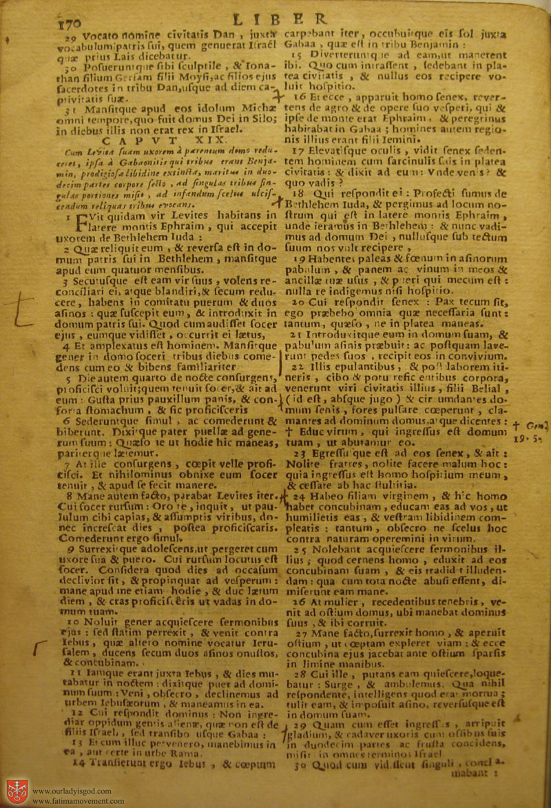 Catholic Latin Vulgate Bible page 0185