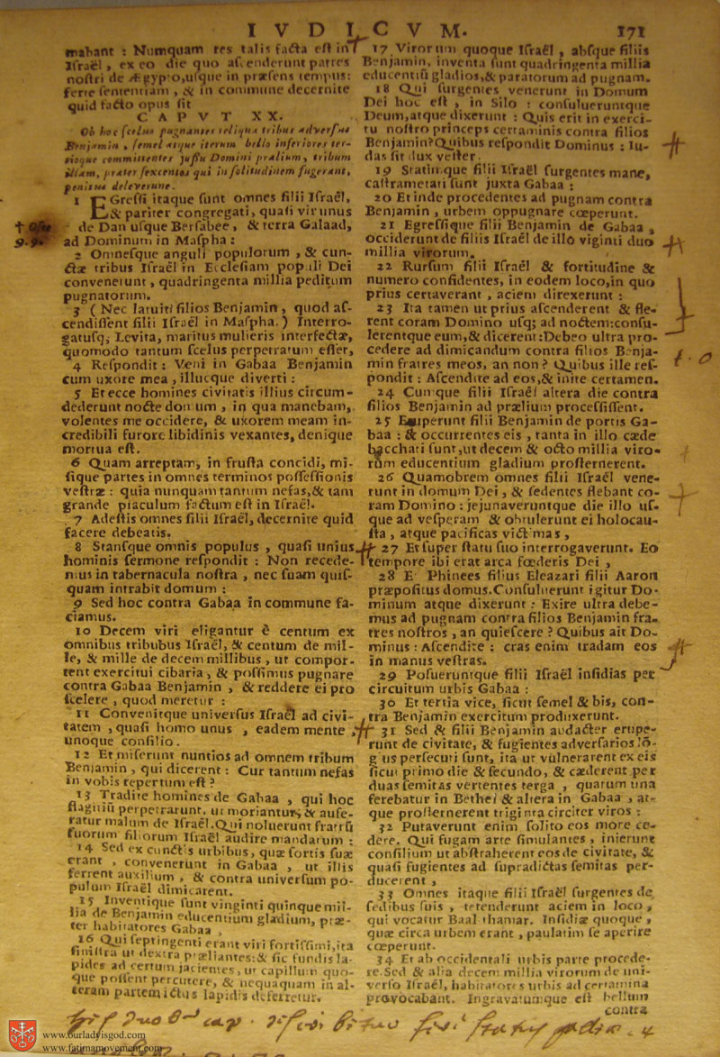 Catholic Latin Vulgate Bible page 0186