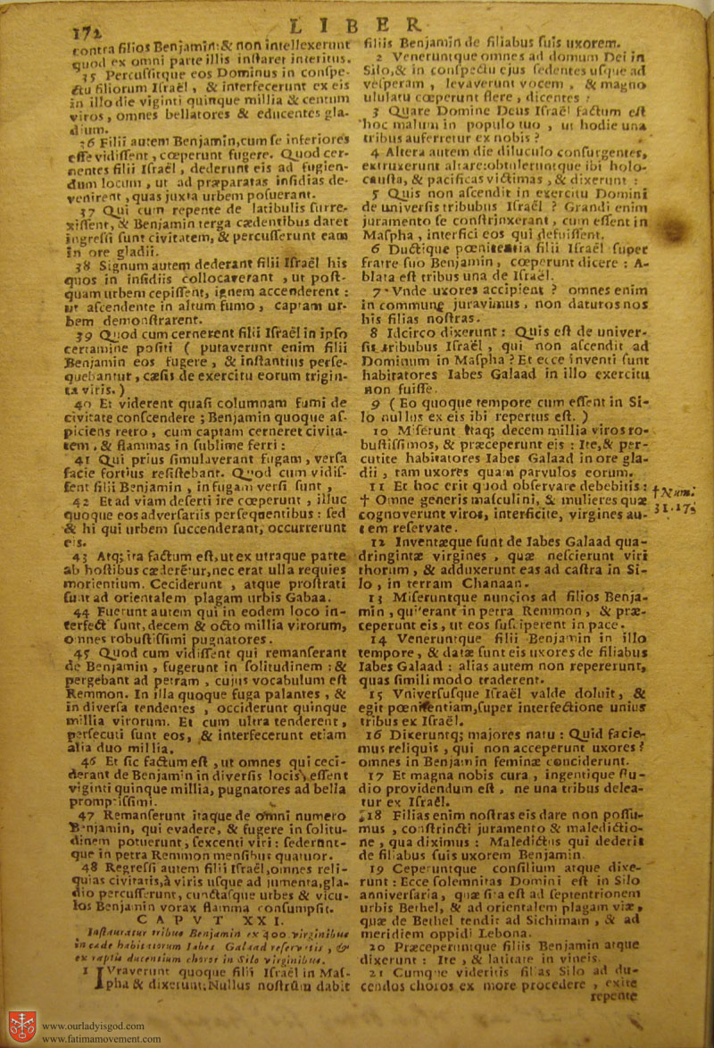 Catholic Latin Vulgate Bible page 0187
