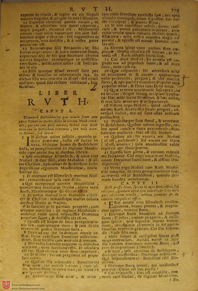 Catholic Latin Vulgate Bible page 0188