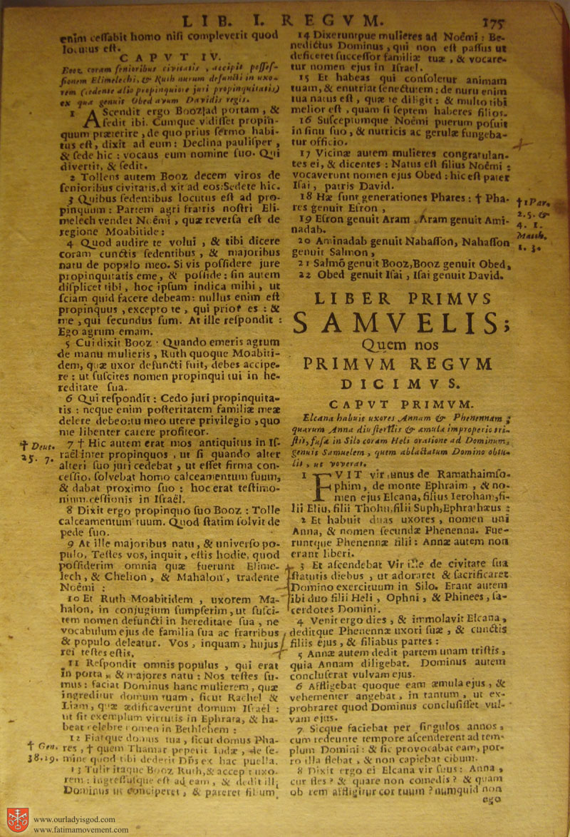 Catholic Latin Vulgate Bible page 0190