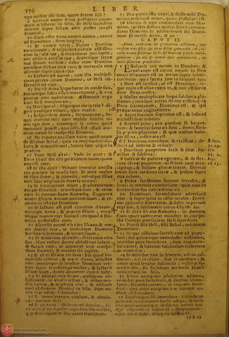 Catholic Latin Vulgate Bible page 0191