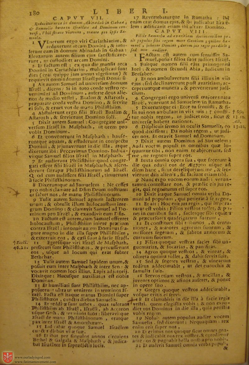 Catholic Latin Vulgate Bible page 0195